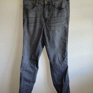 Crescent Drive Washed Out Black Denim Jeans
